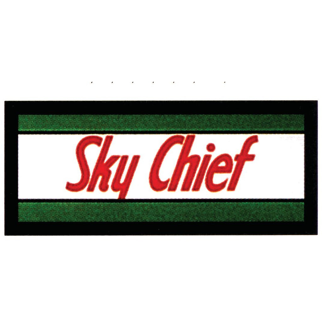 TEXACO SKY CHIEF Ad Glass Panel