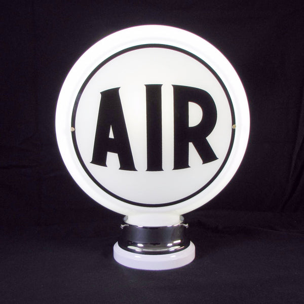 AIR (BLACK) Glass Body Ad Globe with 10