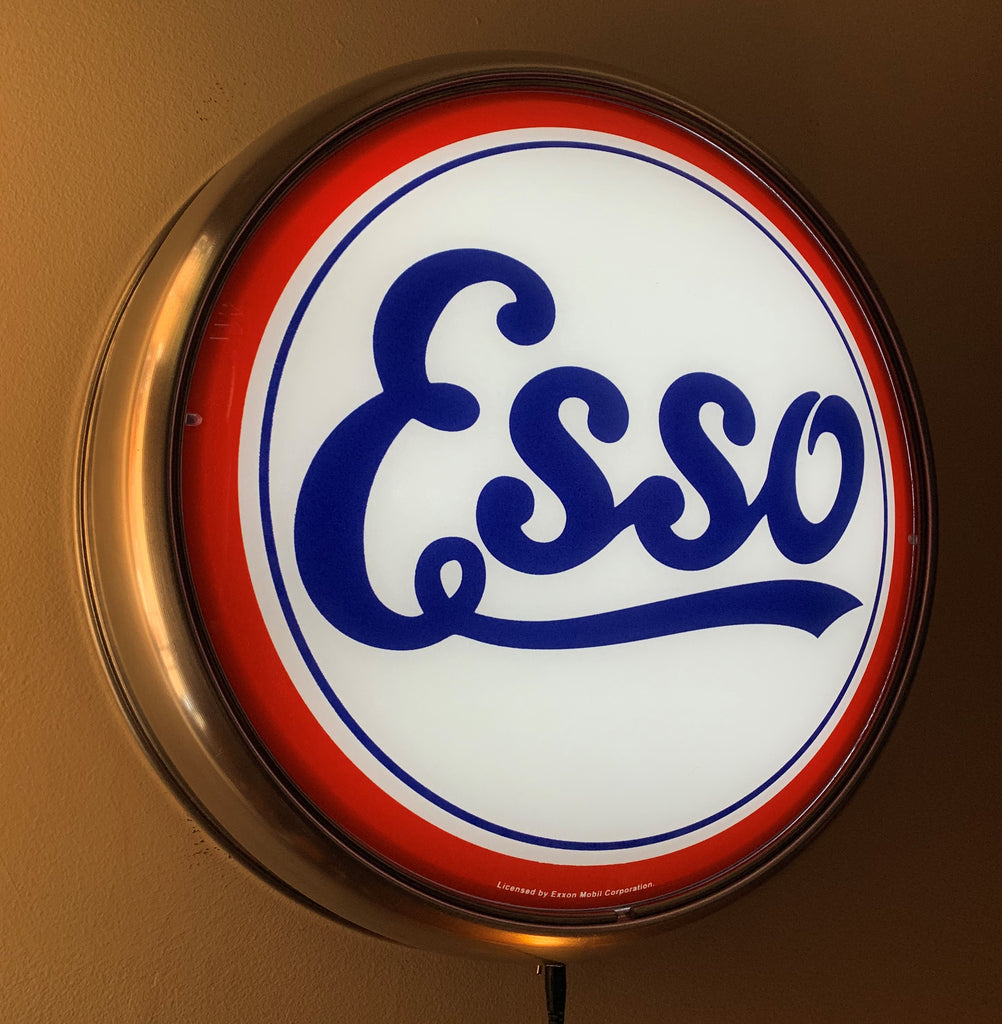 LED Wall Mount - Esso Script