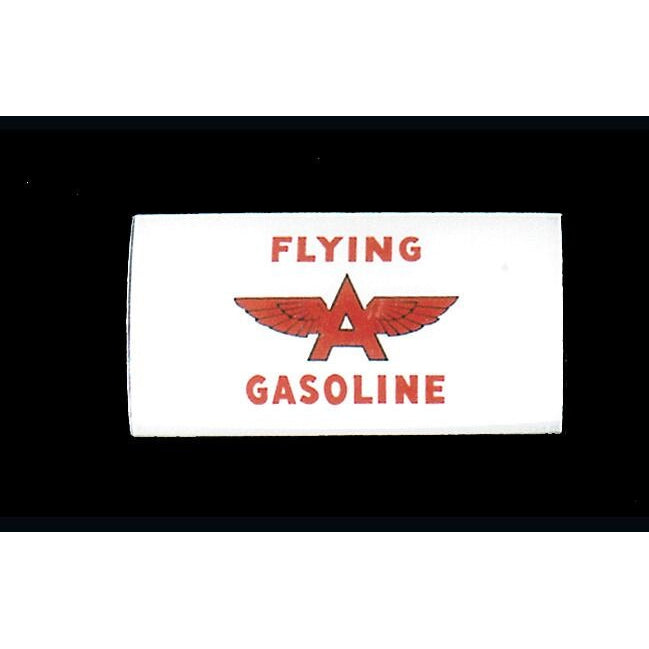 FLYING A GASOLINE Ad Glass Panel for A-62 National Pump