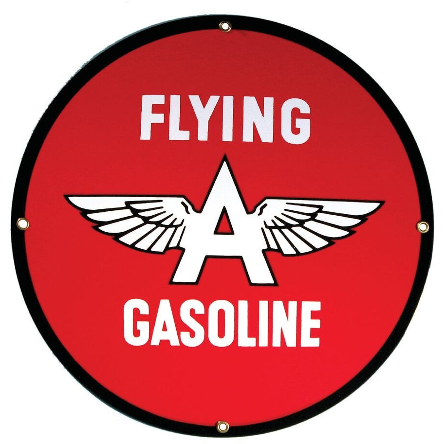 FLYING A GASOLINE 12
