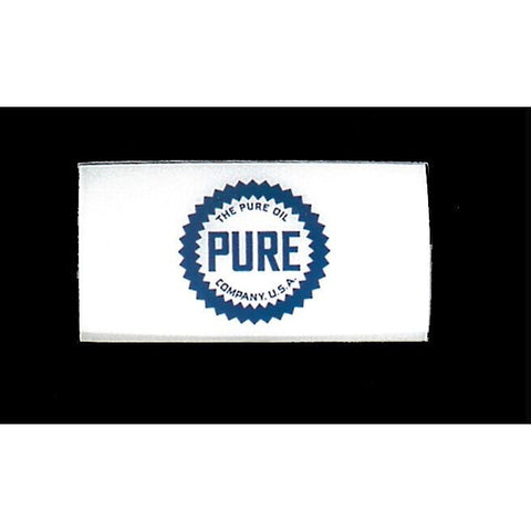 PURE Ad Glass Panel for A-62 National Pump