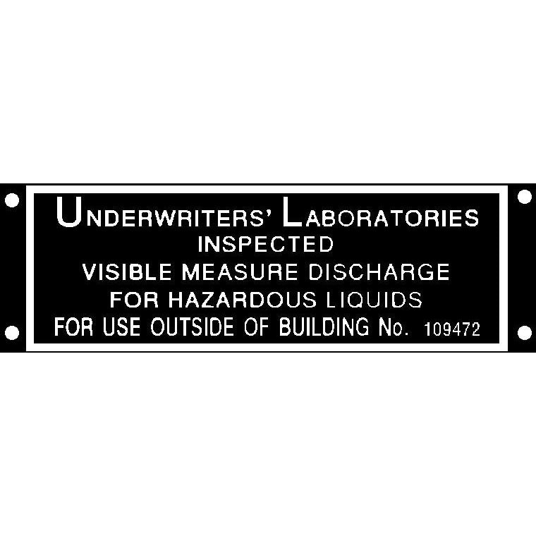 UNDERWRITERS ID Tag