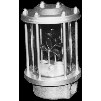 Visi-meter (Sight Glass) with glass cylinder