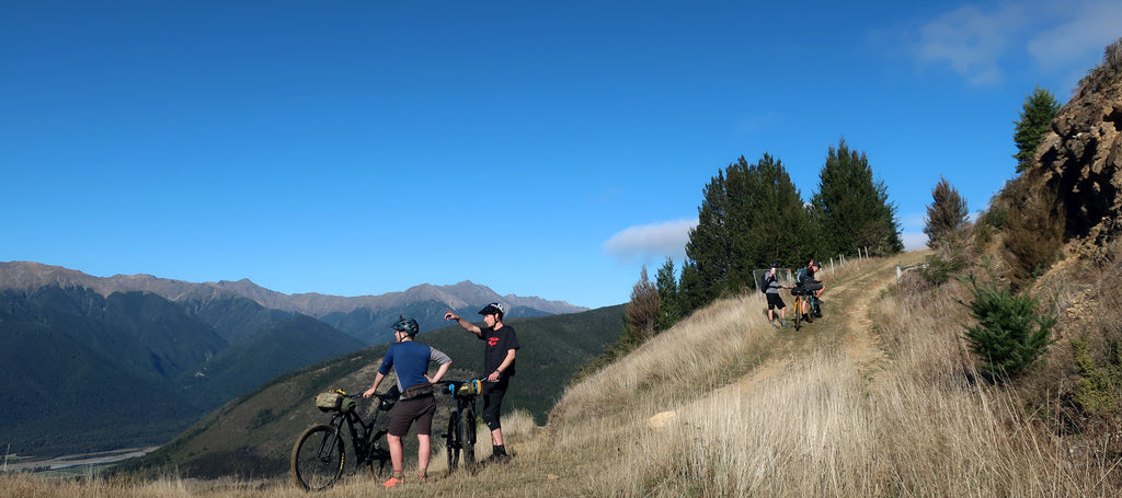 Bikepacking the Richmond Ranges - Maitland Ridge to Red Hills Hut