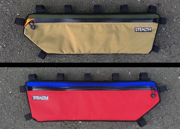 Frame bag colour options