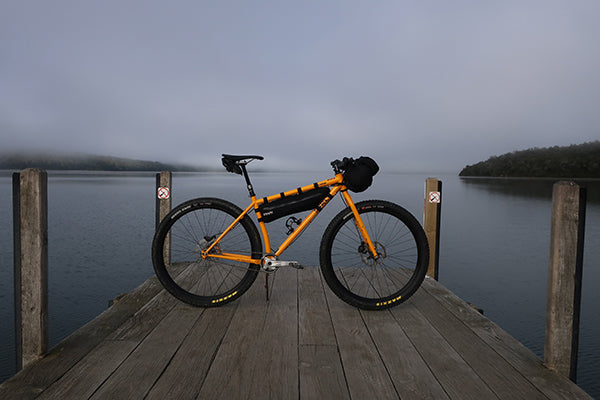 Dylans Surly Karate Monkey set up for bikepacking