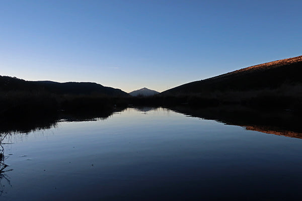 Night fall on the tarn
