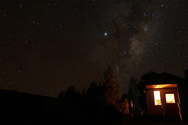 Red Hills Hut night sky