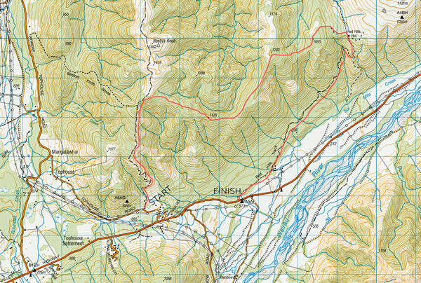 Maitland Ridge Bikepacking Map
