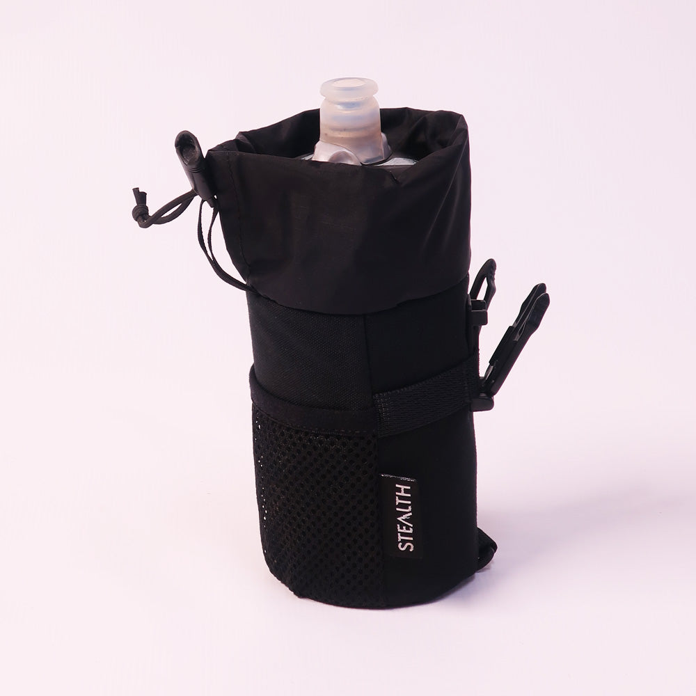 Bottle pouch for bum bag