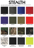 Fabric colour chart