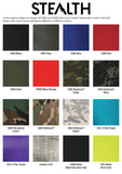 Stealth Material Colour Chart