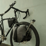 Mountain Panniers on touring bike