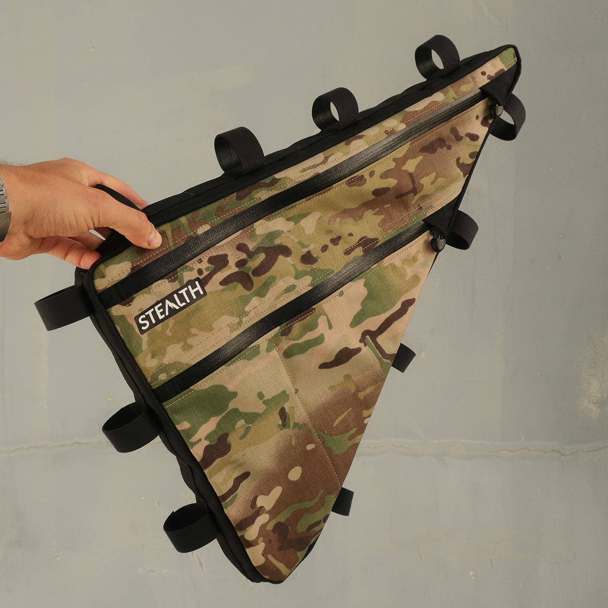 Multicam Alpine custom frame bag