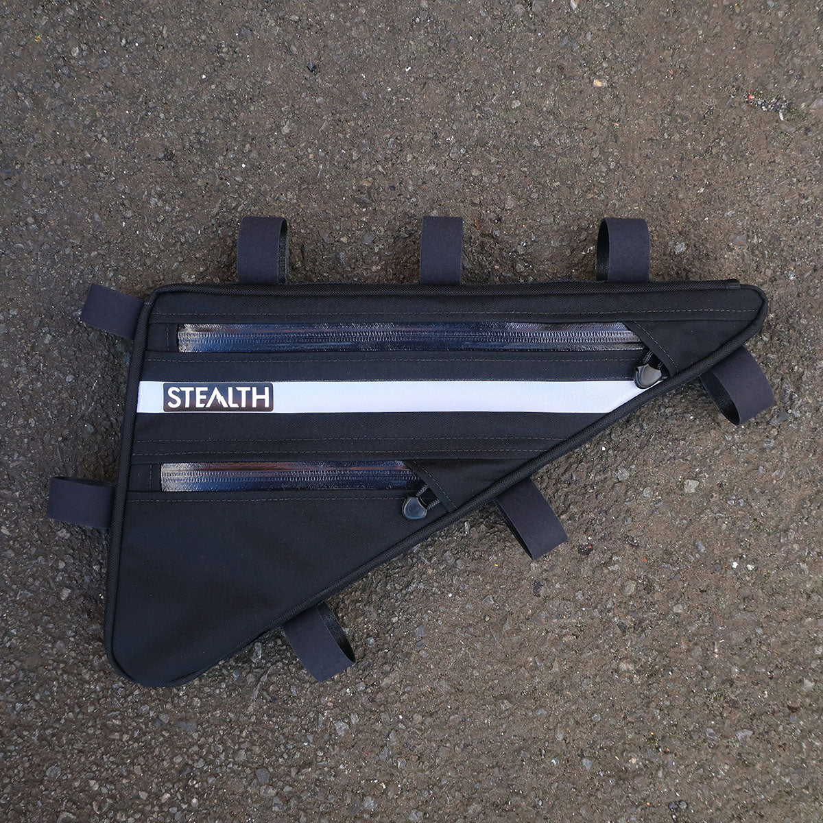 Custom frame bag with reflective for commuting
