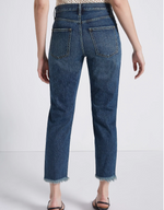 The Exposed Fly Vintage Cropped Slim Jean