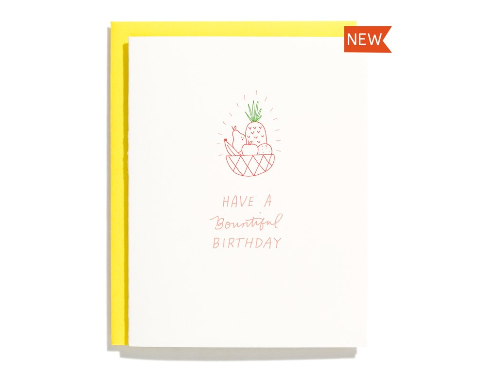 Bountiful Birthday Card