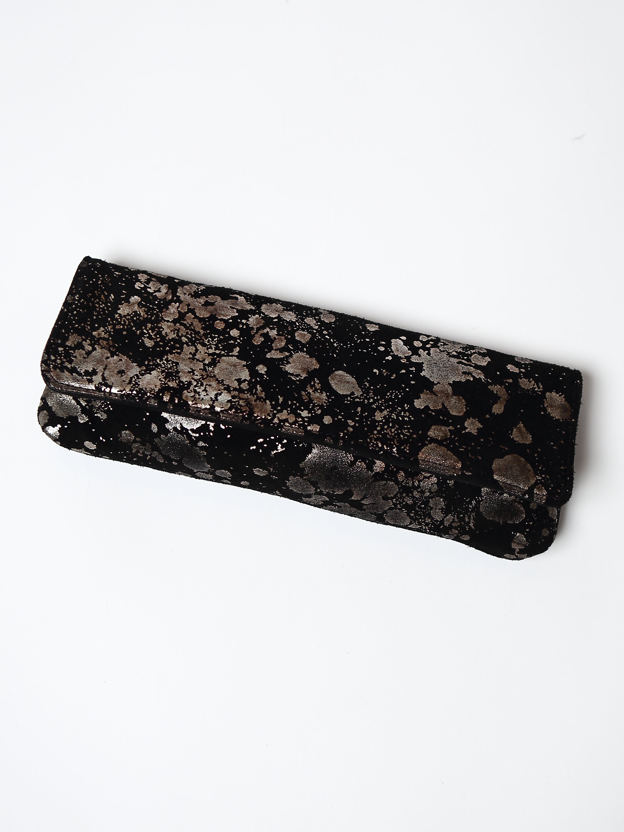 Black Mudsplash Clutch