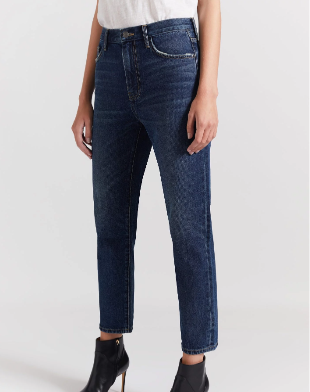 The Vintage Cropped Slim Jean | Worn Rigid