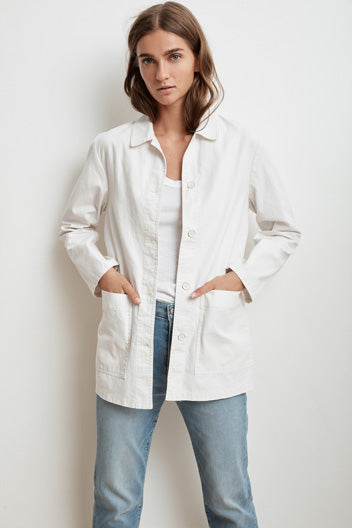 Rivka Cotton Canvas Jacket