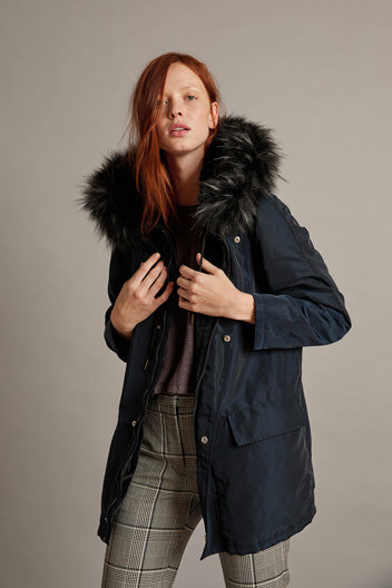 Lux Fur Lined Parka | Tiffany