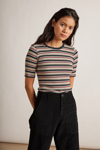 Shelly | Stripe Rib