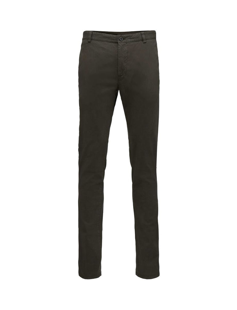 TRANSIT BLACK GREEN TROUSERS