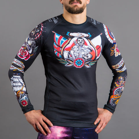 Scramble Tebori Rash Guard