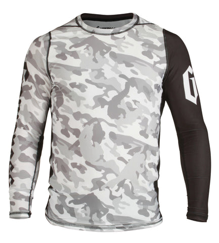 Gameness Camo Grapple Rash Guard