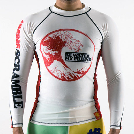 Scramble Be Water Rash Guard