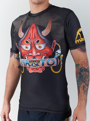 "Manto ""Hannya"" Rash Guard"