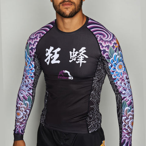 "Manto ""Krazy Bee"" Rash Guard"