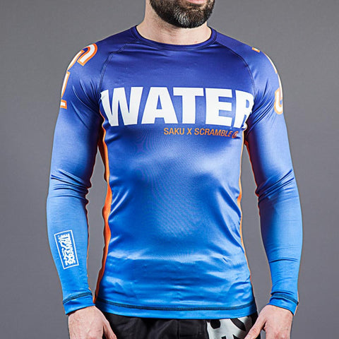 Scramble Sakuraba Water Rash Guard