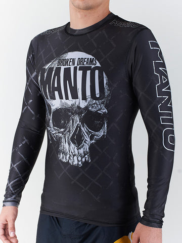 "Manto ""Skull"" Rash Guard"