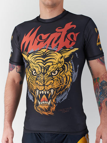 "Manto ""Tiger"" Rash Guard"
