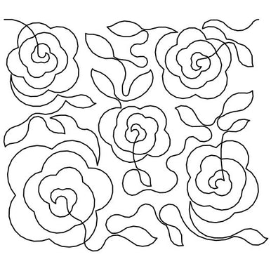 Roses Long Arm Quilting Pattern