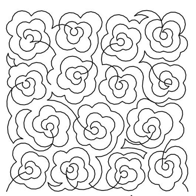 Rose Meander Long Arm Quilting Pattern