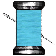 Soft Cyan Thread By Signature