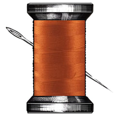 Burnt Orange Thread By Glide