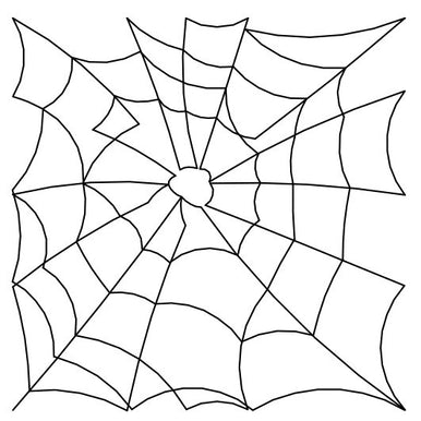 Spider Webs Long Arm Quilting Pattern