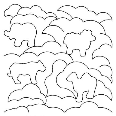 Animal Clouds Long Arm Quilting Pattern