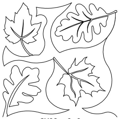 Leaves 4 Long Arm Quilting Pattern