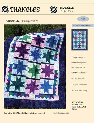 Thangles tulip star project pack