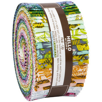 Wild and Free cotton quilt fabric roll up by Hello!Lucky