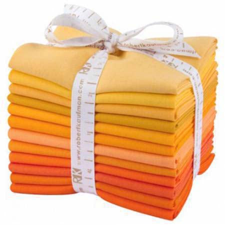 Kona Cotton Fat Quarter Bundle - Citrus Burst
