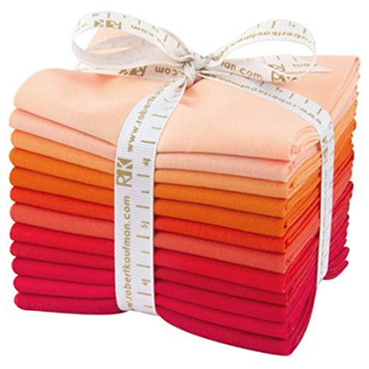 Kona Cotton Fat Quarter Bundle - Darling Clementine
