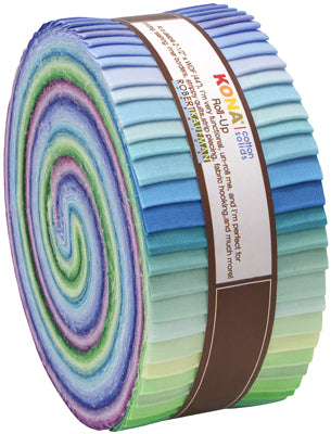 Kona Cotton fabric Roll-up Sunset Colorstory