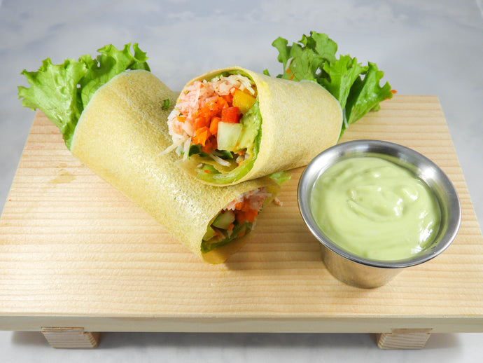California Veggie Roll Coconut Wrap