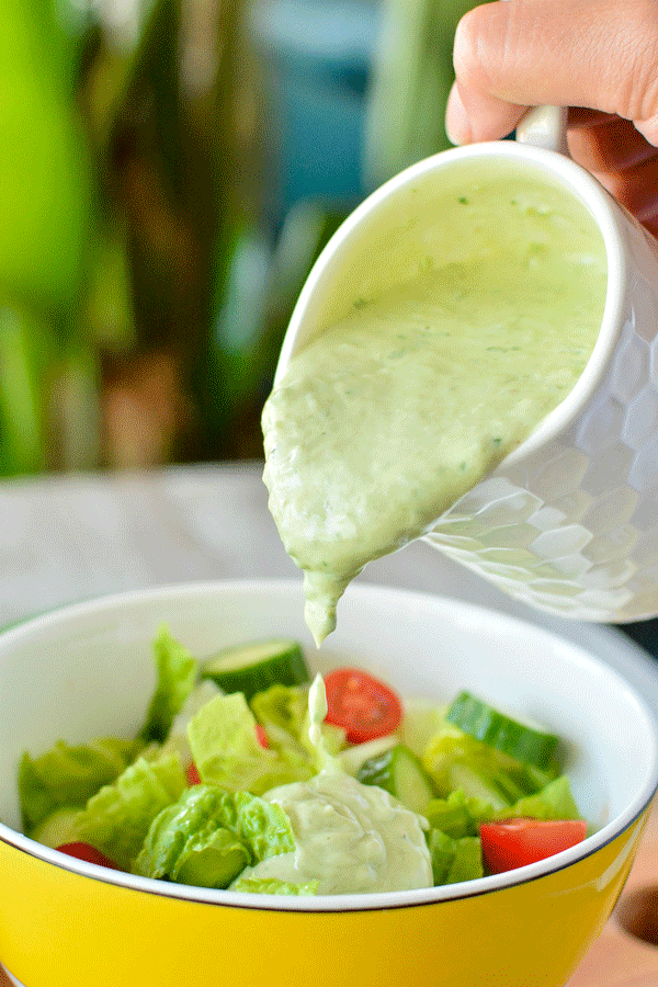 Spicy Green Goddess Dressing